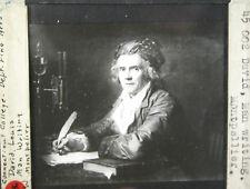 Louis David Man Writing Lantern Slide