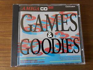 Games & Goodies Amiga CD32 and CDTV compilation