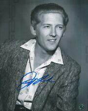Jerry Lee Lewis The Killer Autographed 8 X10 Photo COA Singer Pianist Crazy Arms