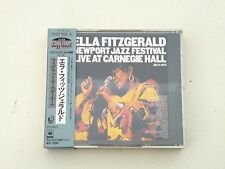 ELLA FITZGERALD - NEWPORT JAZZ FESTIVAL LIVE AT CARNEGIE HALL - 2 CD JAPAN 1973