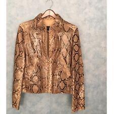 Dolce Gabbana Mens Python Skin Blouson Jacket