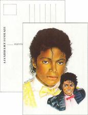 Michael Jackson Carte Postale Postcard Postkarte Human Nature Billie Jean