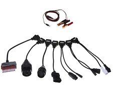 Obd1 obd2 adaptador set 8in1 cars KFZ f autocom CDP + diagnóstico Interface 12v cable