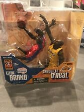 McFarlane NBA Elton Brand Shaquille O'Neal 2004 All-Star Exclusive Signed NIB