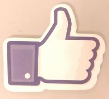Facebook LIKE Thumb up Sticker Decal Guitar Skateboard Bike Car Guitar Vinyl