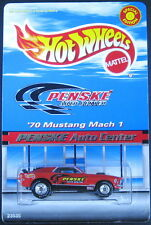 1:64 Hot Wheels Penske 1970 Mustang Mach1 Special Edition DieCast w/ Real Rider