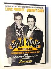 PRESLEY & CASH  -  THE ROAD SHOW INTERSTATE -  DVD+ CD 2006  NUOVO E SIGILLATO