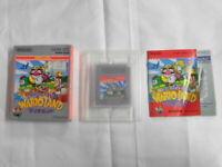 X1754 Nintendo Gameboy Super Mario Land 3 Wario Land Japan GB w/box