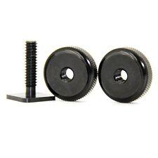 "1/4"" Dual Nuts Tripod Mount Screw To Flash Camera Hot Shoe Adapter Accessory CA"