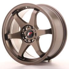 Japan Racing JR3 Alloy Wheel 17x8 - 4x100 / 4x114.3 - ET35 - Bronze
