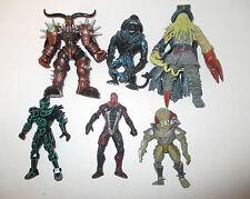 Action Figures Collection Lot 0f 6 ~ Alien, Predator, McFarlane