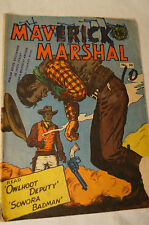 CLASSIC VINTAGE GORDON & GOTCH B&W COMIC - Maverick Marshall - Classic Titles