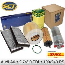 Audi A6 4F 2.7 & 3.0 TDI | 190 PS & 240 PS | 4-tlg. Filterset Inspektionspaket