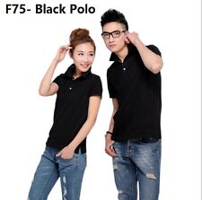 Polo 170-175cm (L Size) Shirt Black T Shirts Tops Sports pakaian baju lelaki Boy