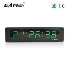 [Ganxin]1'' Small Desk Clock Table Led Digital Timer Countdown Meeting Clock