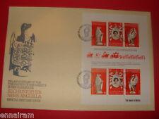 Queen Elizabeth II Silver Jubilee FDC 25 Coronation St Kitts Nevis 1978 #1