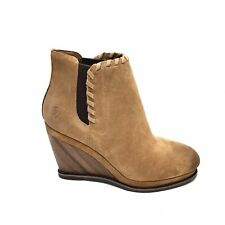 Women's Ariat Belle Sand Suede Western Ankle Boots Size 10 B