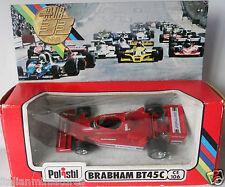 Alfa Romeo Brabham Parmalat BT45C F1 Polistil 1978 CE106 1/43 Diecast