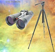 "CELESTRON 25x100mm (4"") GIANT WATERPROOF Binoculars w/STURDY TRIPOD!!"
