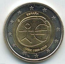 España 2 Euros 2009 EMU emisión Nº 3