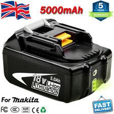BL1860B For Makita BL1850B LXT Li-Ion 18V Battery 5Ah LED Gauge BL1840B BL1830B