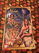 DISNEY ALADDIN SIGNED 2019 NYCC Comic Con EXCLUSIVE POSTER ART DIEGO GALINDO NEW