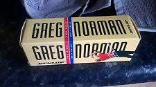 Sleeve of 3 NOS Greg Norman Dunlop Vintage Long Distance 2-Piece Golf Balls RARE