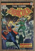 Tomb of Dracula #22 (Jul 1974, Marvel) FN 6.0 Gene Colan Art / 1st Gorna