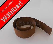 Corten Rasenkantenband Rasenkante Metall Rolle 1 mm rostig Beeteinfassung Ring