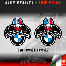 2 adesivi CAFE RACER stickers BMW old biker decal  vintage classic CCR004