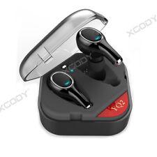 Wireless Bluetooth 5.0 Headset Stereo Headphones TWS In Ear Earbuds For Sony HTC