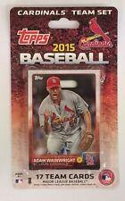 2015 Topps St. Louis Cardinals Baseball ~ 17-Card Factory Sealed Team Set