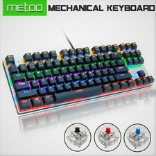 ZERO Gaming Mechanical Keyboard | red | black | blue | 87 keys Anti-ghosting RGB