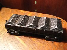Midge Toy Train Car - Vintage Blk Model Coal Car Metal USA Rockford Illinois Toy