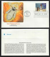 1995 $10.75 Space Shuttle Endeavour Sc 2544A First Day Cover Fleetwood