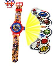 Beyblade watch with projector, childrens watch, watch multi-projector, of