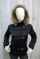 FAY Donna Taglia S Giubbotto Blu Giubbino Piumino Invernale Giacca Woman Jacket