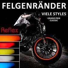 Felgenrandaufkleber 700602 Classic-Style Reflex Orange für 16'' 17'' 18'' Zoll