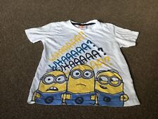 Despicable Me T-shirt. Age 7-8 Years.