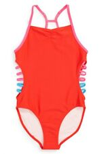 a790679d140 Tucker + Tate Strappy Sides One Piece Swimsuit Girls Size 10 NEW NWT
