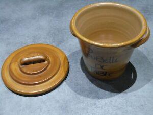 Poubelle de table en céramique