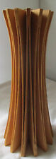 SETH ROLLAND SIGNED ASH WOOD DECORATOR ANEMONE VASE