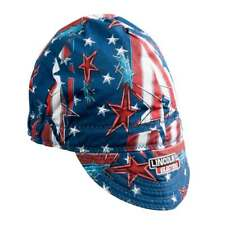 Lincoln Electric K3203-ALL All American Welding Cap Red White & Blue