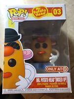 """Funko Pop Vinyl Figure Target Exclusive  Mr. Potato Head Mixed Up 'In Protector"""""""