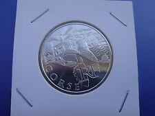 """Pièce 10 euros Argent série Monuments """" CORSE """" 2011 sous étui HB"""