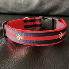 Gucci Bee - Dog Collar Size : Medium