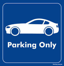 Parking Only - BMW Z4 E85 Coupe - Aufkleber