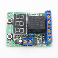 Voltage control Relay Timer Delay Switch Under Voltage Protection 12V