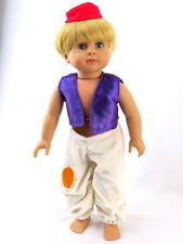 Aladdin  Halloween Costume for 18'' dolls by American Fashion World