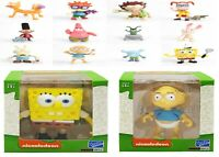 Spongebob Nickelodeon Splat Action Articulated 3 Inch Vinyls Figure New Toy Play